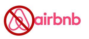 no airbnb