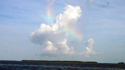 Double Rainbow Cloud