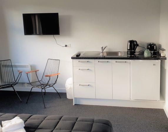 kitchenette tv super room