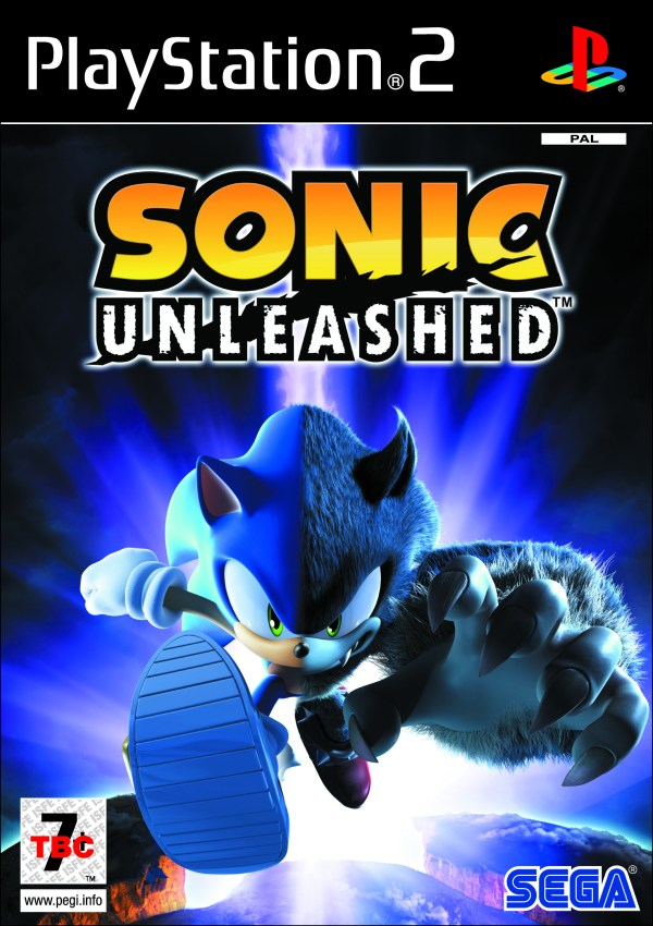Official Art Sonic Unleashed Minute Continue