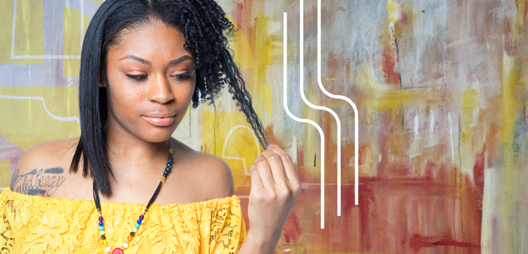 Beauty supply choice for silk press on natural hair