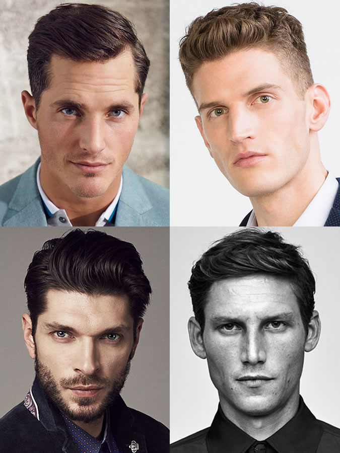 Men's hairstyles/haircuts for Oval Face Shapes