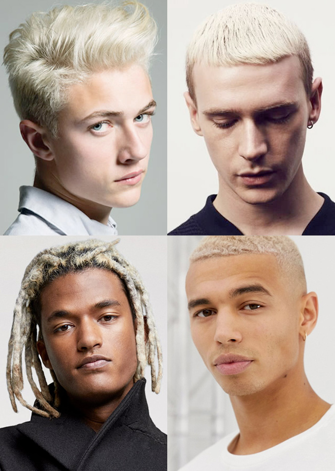 Men's Bleached Hairstyles