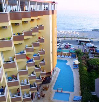 Antalya Hotels Galaxy Beach Hotel in Antalya  cheap