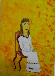 Seated Lady, 2002