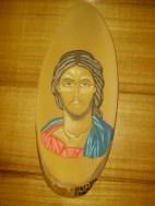 Isus, 2008 (Oil on wood)