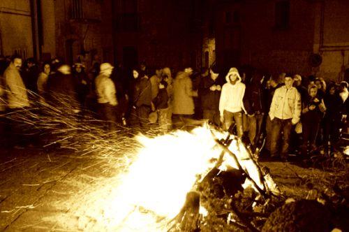 Fucacost e cocce priatorije a Orsara di Puglia