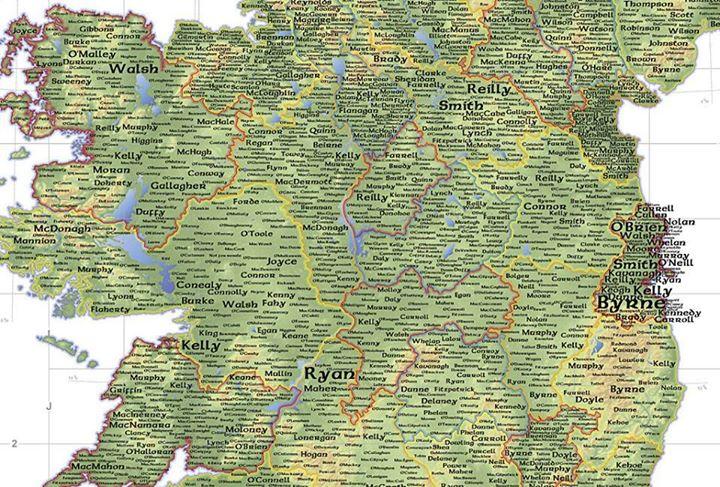 prima mappa irlanda