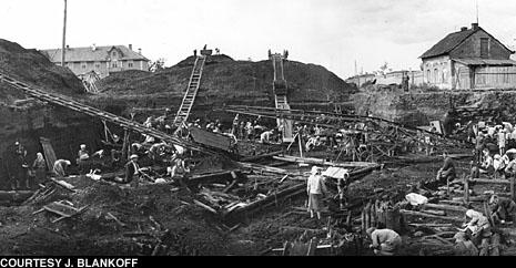 L'attività di scavo a Novgorod