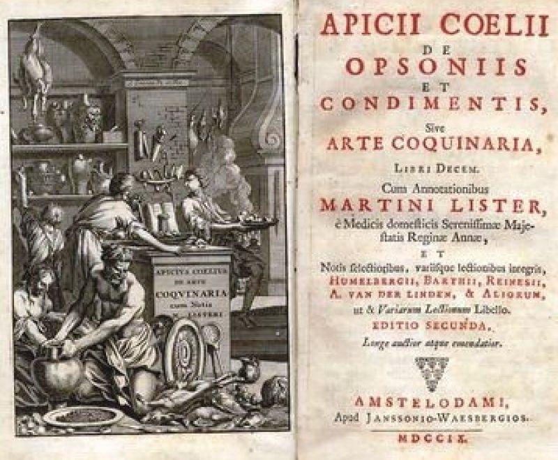 De coquinaria di Apicio in un'edizione del 1709