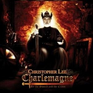 """Copertina del primo album """"Carlo Magno. con la spada e la croce"""""""