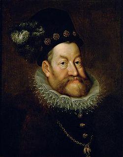 Rodolfo II d'Asburgo ritratto da Hans von Aachen
