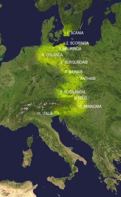La migrazione Longobarda