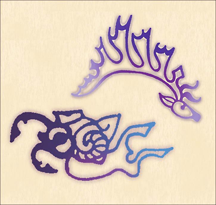 I disegni tatuati sulle dita della principessa. Siberian times