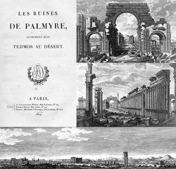Les Ruines de Palmyre, autrement dite Tedmor au Désert ed. 1819