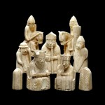 I famosi scacchi dell'isola di Lewis - British Museum - Stanza 40 di Medieval Europe (Foto© Trustees of the British Museum)