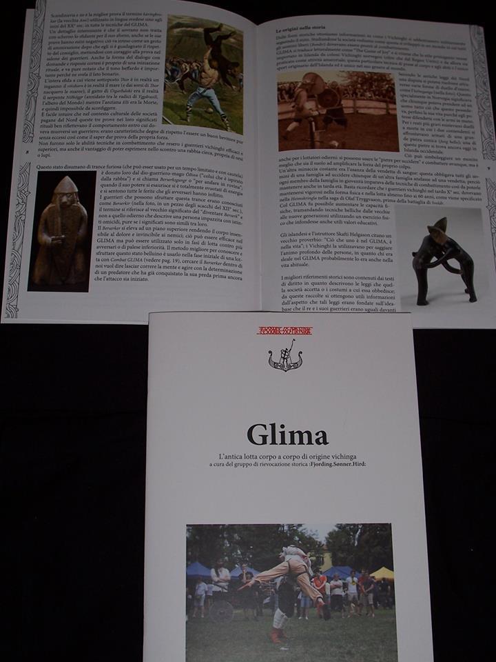 La pubblicazione in italiano sull'antica arte di combattimento (Foto: :Fjording.Sønner.Hird:)