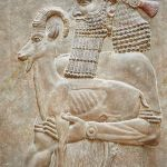 Bassorilievo dal Palazzo di Sargon II a Khorsabad, Louvre Room 4 , Paris   Photos Gallery