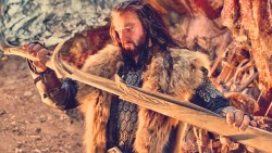 Thorin e a spada Orcrist