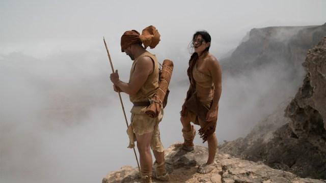 Un'altra immagine dalla serie tv The great human race