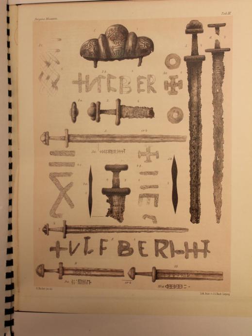 Immagini tratte dal saggio di Anders Lund Lorange, pubblicato postumo nel 1889.