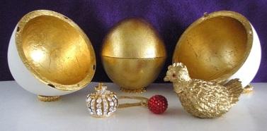 Il primo delle uova imperiali Fabergé