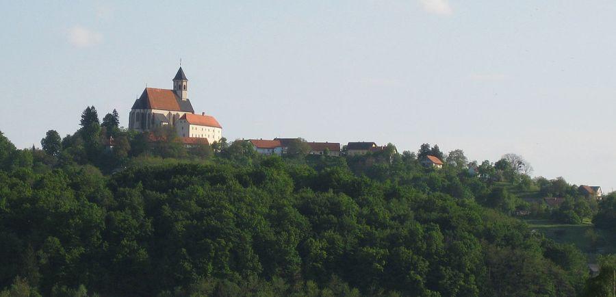 Il villaggio di Ptujska Gora