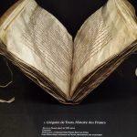 Manoscritto del VII secolo dell'Historia Francorum di Gregorio di Tours, prodotta a Corbie (Foto:La Storia Viva)