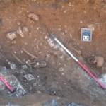 Foto durante lo scavo nel cimitero sassone rinvenuto in Gladstone Street ad Hartlepool (Foto: http://www.hartlepoolmail.co.uk/)