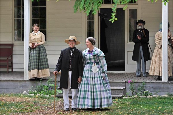 Living history a Fort Nisqually