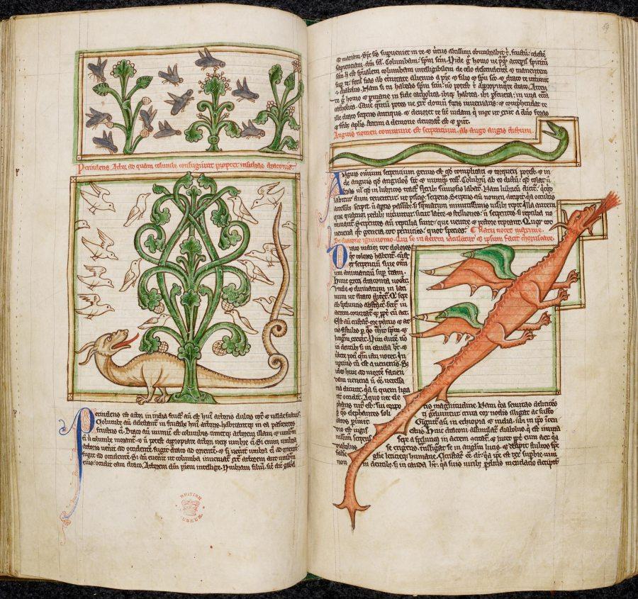 Peraldus, Miscellanea teologica, include la Summa de vitiis (1250 - 1300) MS3244 British Library