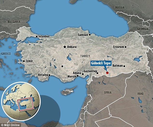 La posizione geografica di Göbekli Tepe
