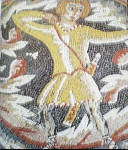 Sala di Ippolito, Madaba, Giordania, VI century