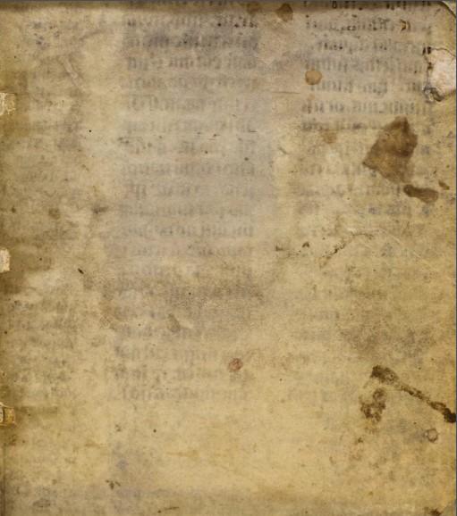Il testo medioevale era difficile da leggere senza l'aiuto della tecnologia di imaging. (Foto: Emeline Pouyet)