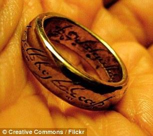 L'anello del Potere della saga di J.R.R. TolkienL'anello del Potere della saga di J.R.R. Tolkien
