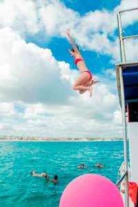 Fiesta, Barco, Punta cana, party, Boat