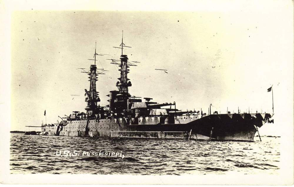 medium resolution of battlewagon laststandonzombieisland page 4mississippi as a brand new battleship in wwi complete with lattice masts and