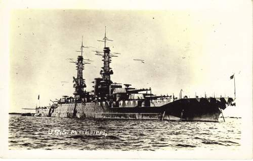 small resolution of battlewagon laststandonzombieisland page 4mississippi as a brand new battleship in wwi complete with lattice masts and