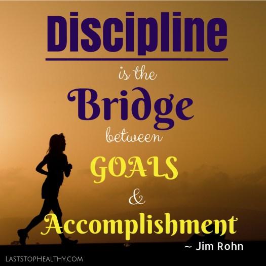 On Discipline...