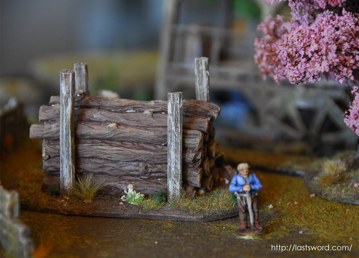Aserradero-Scenery-Sawmill-Complements-Stockpile-Timber-Wood-Madera-Troncos-Trunks-Warhammer-Fantasy-10