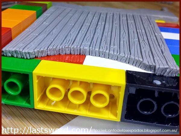 Gate-Puerta-Madera-Clay-Masilla-Lego