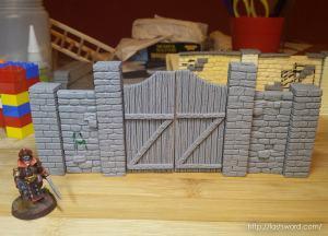 Madera-Portada-Porton-Puerta-Castillo-Castle-Wooden-Gate-Pasador-Lock-Warhammer-Mordheim-04