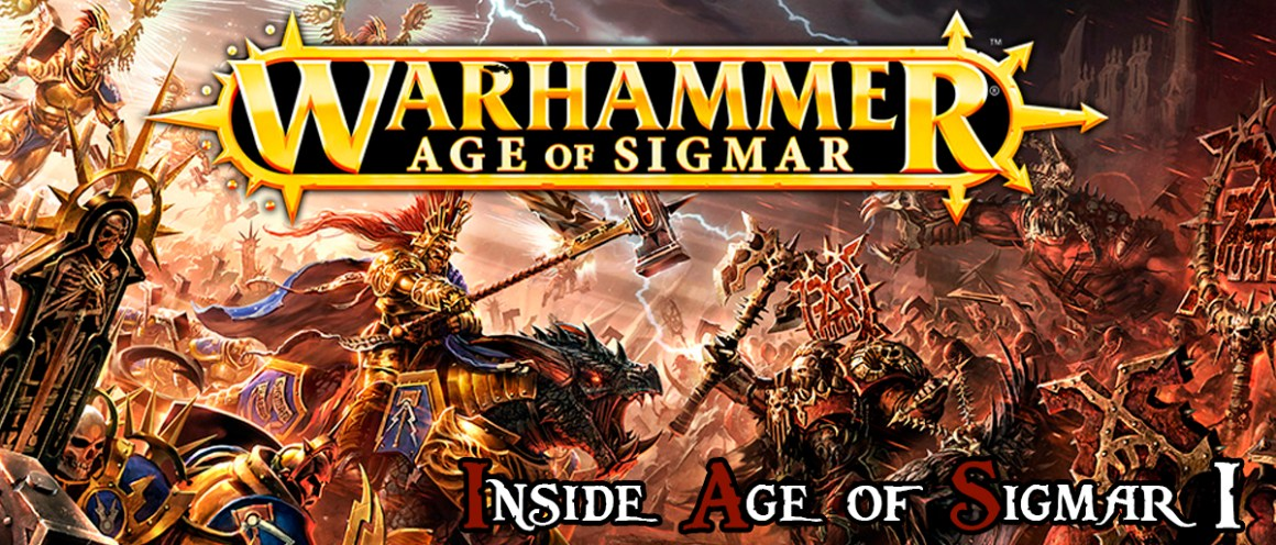 front image of the first article Inside Age of Sigmar