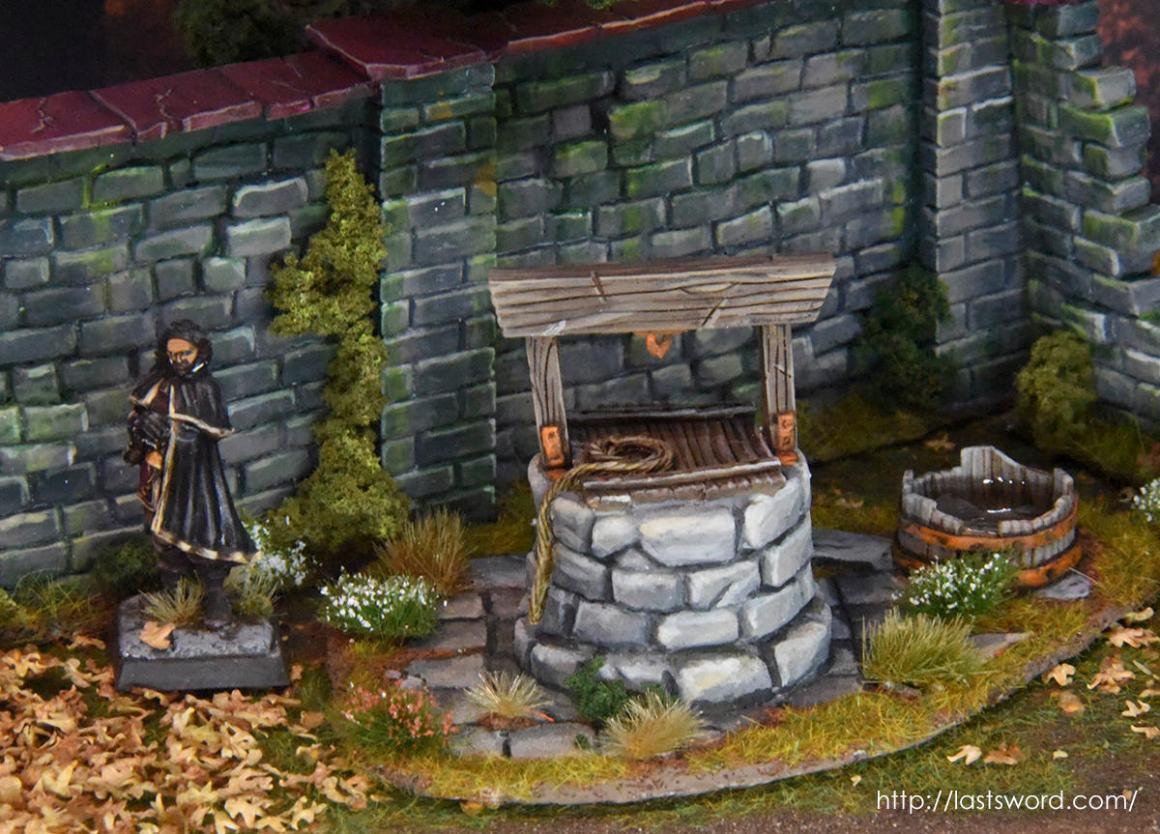Pozo de agua para 1650 A capa y espada