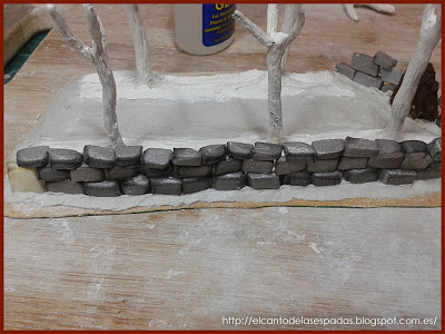 Muro-Piedra-Huerto-Frutal-Warhammer-Modelismo
