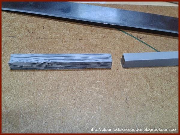 Super-Sculpey-Firm-Madera-Wood-Stable-Stall-Establo-Escenografía-1650-Warhammer-Mordheim-Scenery-06