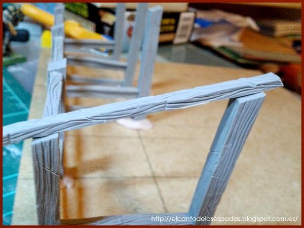 Super-Sculpey-Firm-Clay-Masilla-Techumbre-Roofing-Tejado-Rooftop-Stable-Stall-Establo-Escenografía-1650-Warhammer-Mordheim-Scenery-04