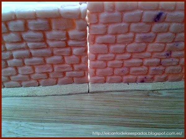 Piedra-Muro-alto-Valla-Fence-Wall-High-Stone-Wargames-Warhammer-Escenografia-Scenery-Bolt-FOW-09-Sculpersculpey-Clay-Masilla