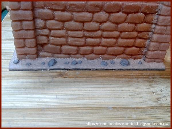 Super-Sculpey-Masilla-Clay-Base-Piedra-Muro-alto-Wall-High-Stone-Wargames-Warhammer-Escenografia-Scenery-Bolt-FOW-09