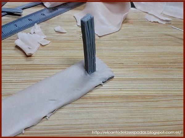 Super-Sculpey-Clay-Masilla-Valla-Madera-Peana-Wooden-Fence-Base-Warhammer-Scenery-Escenografia-Wargame-05